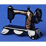 12th Scale Dolls House Accessory - Sewing Machine (Floral) S11402