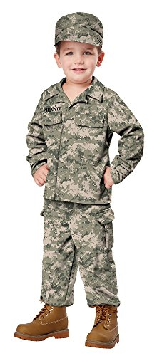 California Costumes Soldier Costume, One Color, 4-6