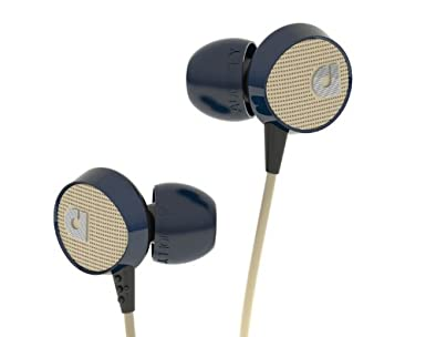 Audiofly 56 Series Headset with Microphone, Blue Tweed $54.99