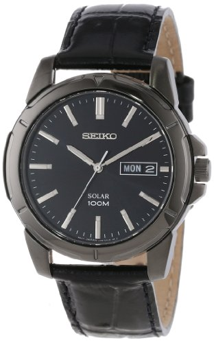 Seiko Men's SNE097 Functional Solar Casual Watch
