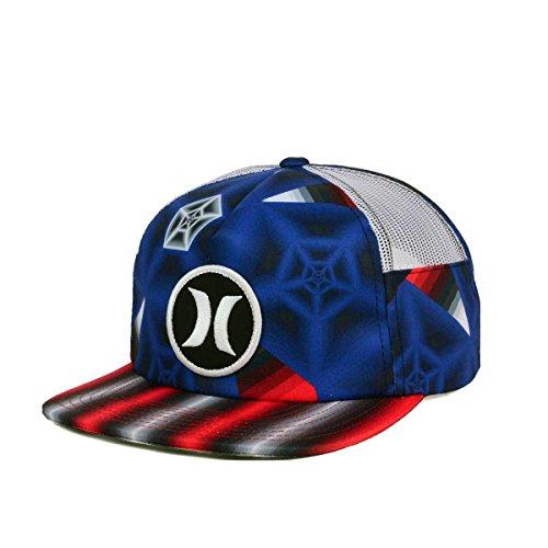 Hurley -  Cappellino da baseball  - Uomo gym red taglia unica