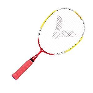 VICTOR Badmintonschläger Starter 43 cm, Gelb/Rot, One size, 116/4/3
