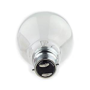 10 x 100w WATT LIGHT BULB PEARL BAYONET FITTING LAMP by Ring