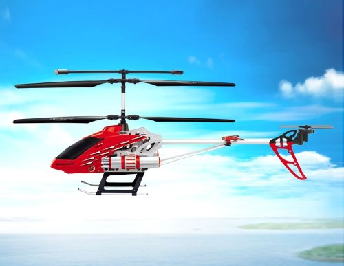 SongYang TOYS 8088-52 5-Channel Alloy RC Helicopter with Gyroscope Spontaneous Missile (Red)