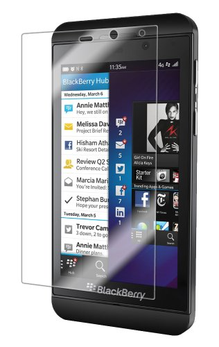 Iq Shield Liquidskin - Blackberry Z10 Screen Protector - High Definition (Hd) Ultra Clear Phone Smart Film - Premium Protective Screen Guard - Extremely Smooth / Self-Healing / Bubble-Free Shield - Kit Comes With Retail Packaging And 100% Lifetime Replace