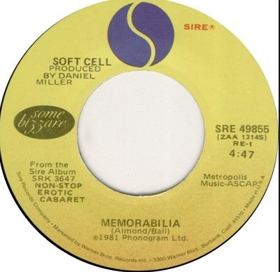 Soft Cell - Memorabilia: Singles - Zortam Music