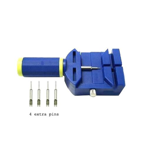 Heavy Duty Watch Band Sizing Tool Link Pin Remover for Bracelet Adjustments (4) EXTRA PINS