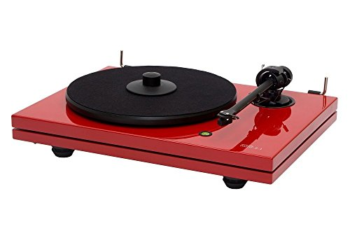 Music-Hall-MMF53LE-Turntable-with-Ortofon-2M-Cartridge-Carbon-Fiber-Arm-Gloss-Red