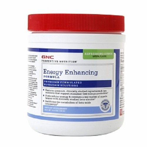 Gnc Preventive Nutrition Energy Enhanced Formula, Refreshing Citrus, 5.6 Oz