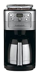 Cuisinart DGB-900BC Grind & Brew Thermal 12-Cup Automatic Coffeemaker Brushed Stainless/Black