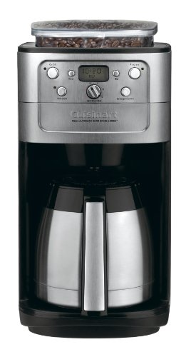 Cuisinart DGB-900BC Grind & Brew Thermal 12-Cup Automatic Coffeemaker (Cuisinart Carafe Insulated compare prices)
