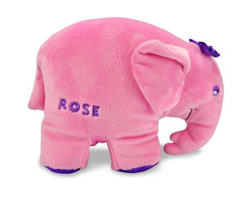 Elmer The Patchwork Elephant: Rose Bean Bag By Kids Preferred front-1036792