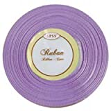 Satin ribbon 6mm x 25m, ideal for crafts, card making, weddings etc. Other colours availabe in our shop (Lilac)by SPSS