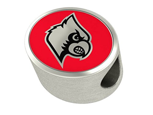 University of Louisville Cardinals Bead Fits All Beaded Charm Bracelets