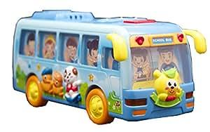 Techege Toys Happy Shaking School Bus