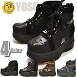 YOSUKE U.S.A ヨースケ 厚底ブーツ 厚底 ショートブーツ ボアブーツ 厚底スニーカーブーツ