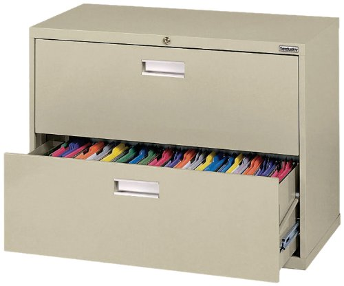 Sandusky 600 Putty Steel Lateral File Cabinet,