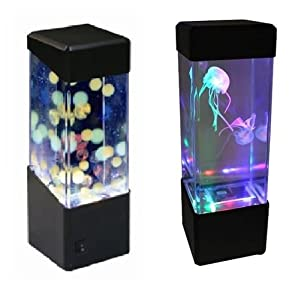 Jellyfish Water Ball Tropical Fish Aquarium Tank Mesmerising LED Lights Relaxing Mood Lamp Light by Playlearn from Playlearn