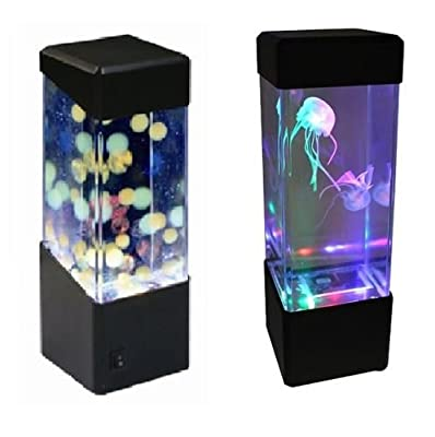 Jellyfish Water Ball Tropical Fish Aquarium Tank Mesmerising LED Lights Relaxing Mood Lamp Light by Play