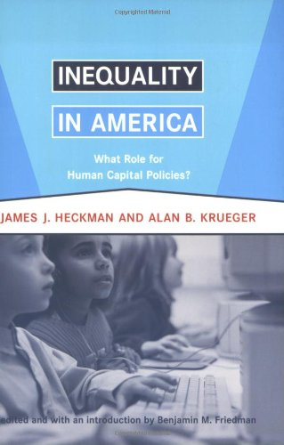 Inequality in America: What Role for Human Capital...
