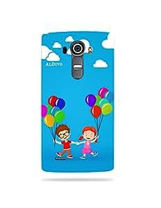 alDivo Premium Quality Printed Mobile Back Cover For LG G4 / LG G4 Back Case Cover (MKD309)