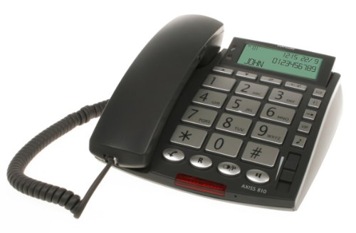 Topcom Axiss 810 Big Button Komforttelefon (große Tasten, großes LC-Display)