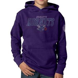 NBA Charlotte Hornets Playball Hoodie Jacket, Grape by