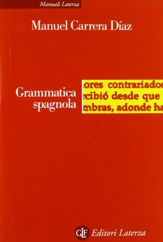 Grammatica spagnola PDF
