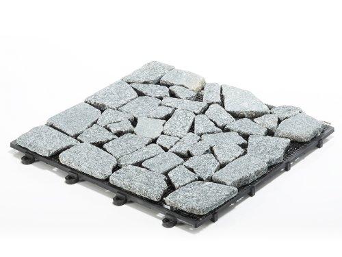 Balkonfliese Mosaic Granit, 11 Stück