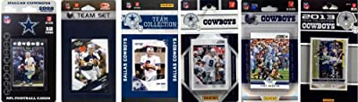 NFL Dallas Cowboys 6 Different Licensed Trading Card Team Sets