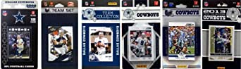 NFL Dallas Cowboys 6 Different Licensed Trading Card Team Sets by C&I Collectables