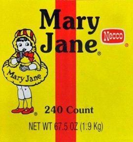 Amazon.com : Necco Mary Jane Candy Chews 240CT Tub : Taffy