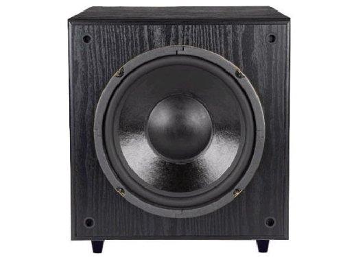 Pinnacle Speakers Ac Sub 125 10-Inch 125 Watt Front Firing Powered Subwoofer (Black)