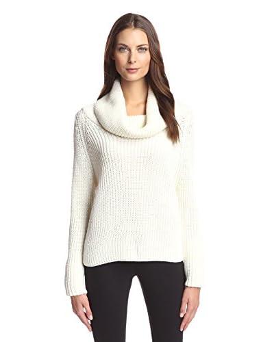Sfizio Women's Cowl Neck Sweater