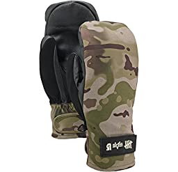 Alpha Industries Undefeated x Alpha x Burton Mitts, Undefeated Camo Size L