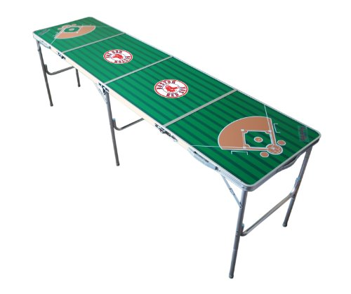 MLB Boston Red Sox Tailgate Table, 2 x 8-Feet at Amazon.com