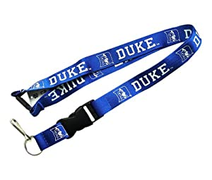 Amazon.com : Duke Blue Devils Clip Lanyard Keychain Id Holder Ticket