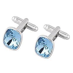 Cufflinks with Swarovski Crystals by Galaxy Fashion Jewellery Limited with Crystals from Swarovski