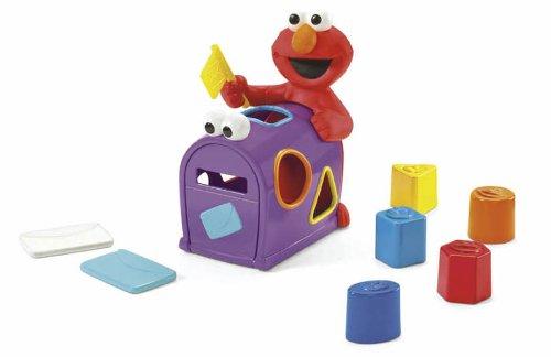 Fisher-Price Sesame Street Elmo's Mailbox Sorter