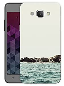 """Humor Gang Beach Side Printed Designer Mobile Back Cover For """"Samsung Galaxy A8"""" (3D, Matte, Premium Quality Snap On Case)"""