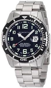 Momentum Men's 1M-DV52B0 M50 Mark II Military Inspired Steel Bracelet Watch