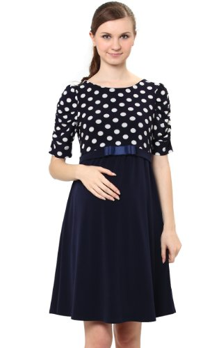 Sweet Mommy Switch Dot Maternity And Nursing Dress Nv3L
