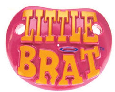 Billy Bob Teeth 90042 Little Brat Pacifier - 1