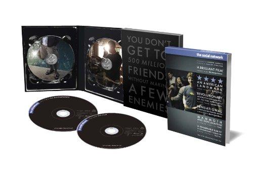 【Amazon限定】ソーシャル・ネットワーク デラックス・コレクターズ・エディション (2枚組) [Blu-ray]
