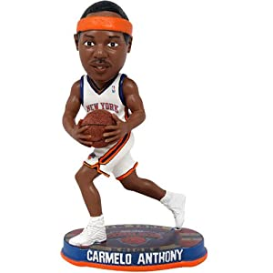 NBA New York Knicks Anthony C. #7 2012 Home Basketball Base Bobble by Forever Collectibles