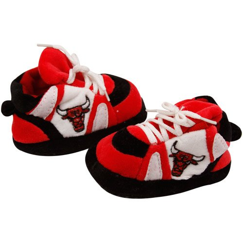 Comfy Feet - CBU03PR - Chicago Bulls Baby Slipper - Newborn to 9 Month at Amazon.com