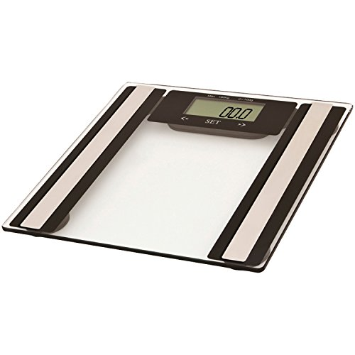 VIVITAR PS-V527-C Total Fitness Digital Bathroom Scale (Clear)
