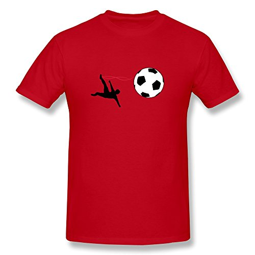 Gentleman Goal Slim Fit T-Shirts Size M Color Red