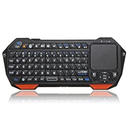 CROCON Mini Wireless Bluetooth Keyboard Mouse Touchpad For Windows For Android For iOS BT05