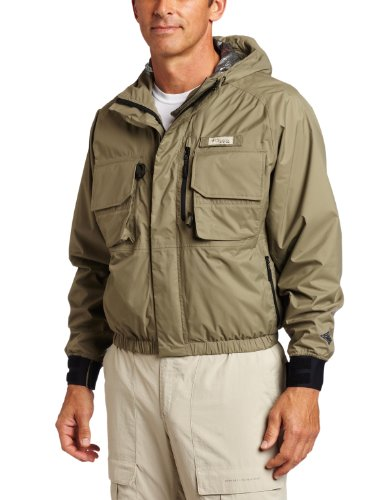 Columbia Men's Omni-Heat Wading Fishing Jacket (Sage, Small)
